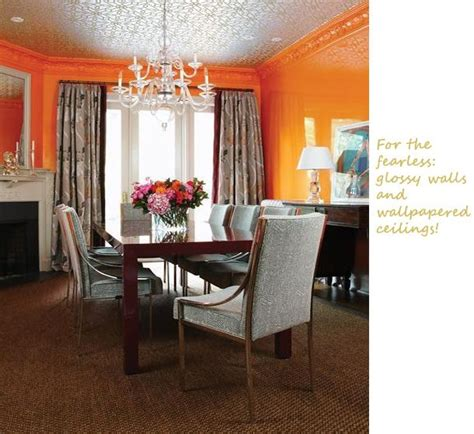 81 best images about orange dining room on