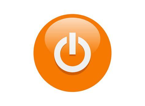 design icon orange 12 orange button icon free images orange button icon