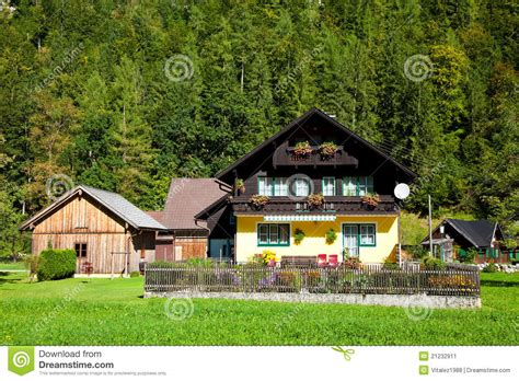 alpine style house plans traditional alpine style house stock image image 21232911