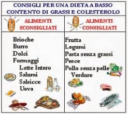 colesterolo alto dieta alimentare dieta e colesterolo