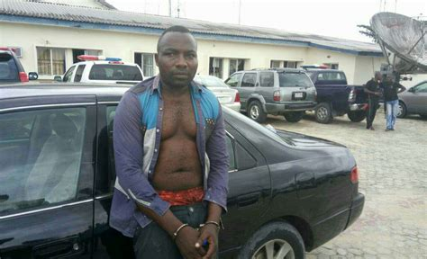 Daniel Baldwin Arrested For Stealing Car by Car Thief Nabbed By The In Yenagoa After He Was