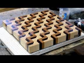 home made boards making a 3d end grain cutting board 3 youtube