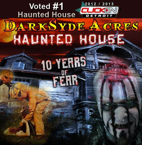 best haunted houses in michigan haunted house in michigan darksyde acres haunted house