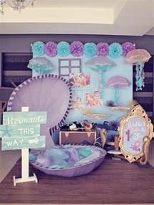 Mermaids vs pirates themed birthday party with so many really cute