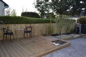 barriere bois pour terrasse nivrem terrasse bois barriere diverses id 233 es de