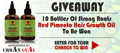 strong roots hair growth oil long hair care forum giveaway time sponsored by urban gyal