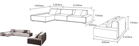 Furniture Standard Dimensions In Cm by Modern Living Room Furniture Set Buy Living Room