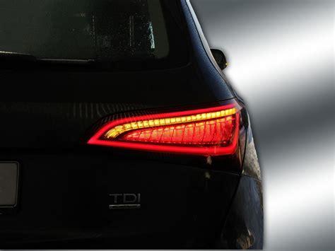 Led Q5 complete set facelift led rear light for audi q5