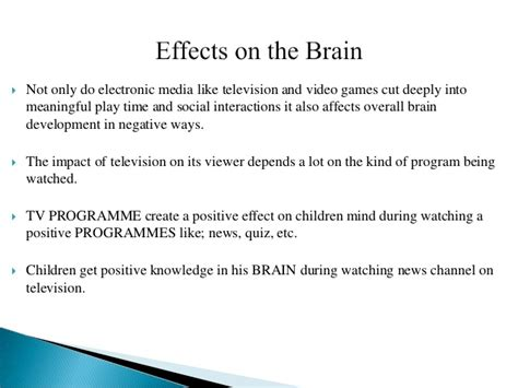 Argumentative Essay On Influnce Of Television by Argumentative Essay Tv Influence 11th Hour Essay