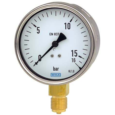 Termometer Industri bourdon t 252 p basın 231 246 l 231 er manometre 212 20 wika t 252 rkiye
