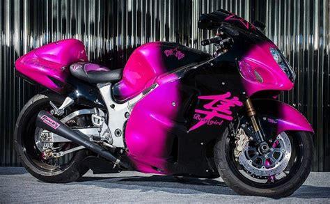 Pink Suzuki Pink Suzuki Hayabusa Rides