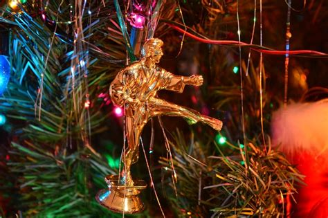 reuse old trophies as tree ornaments crafting for boys