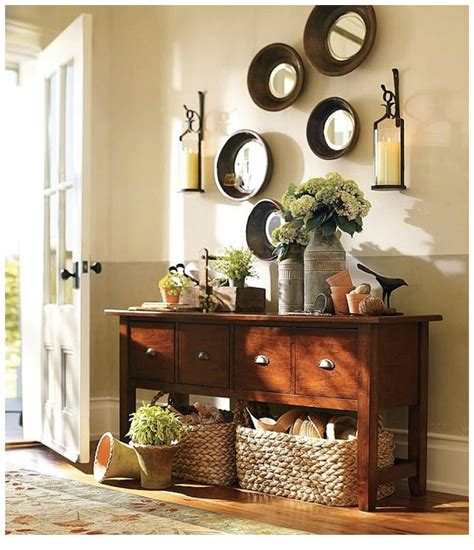 entry decor interior bucolic ambience home entryway decor idea