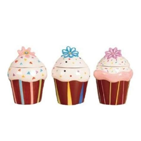 cupcake canisters for kitchen 17 best images about cupcakes cookie jar on
