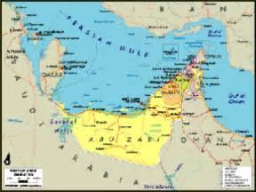 Uae World United Arab Emirates On World Map Images
