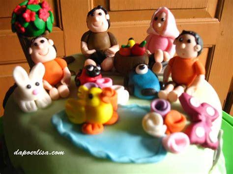 Biaohua Cetakan Hias Kue Cake Gun pin tags cake hias fondant family figurine juala kue cake on