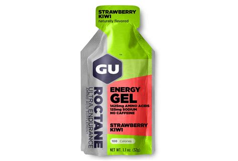 Energys Energy Gel by Gu Energy Gel Roctane Strawberry Kiwi 32g Alltricks
