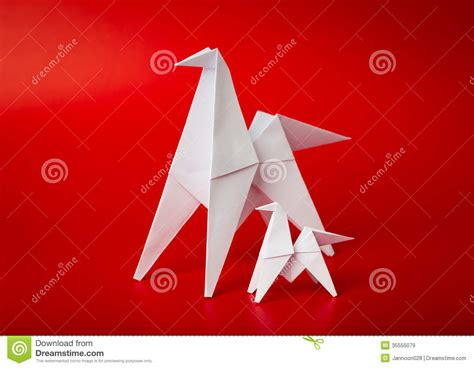 New Years Origami - new year origami paper 2014 vector