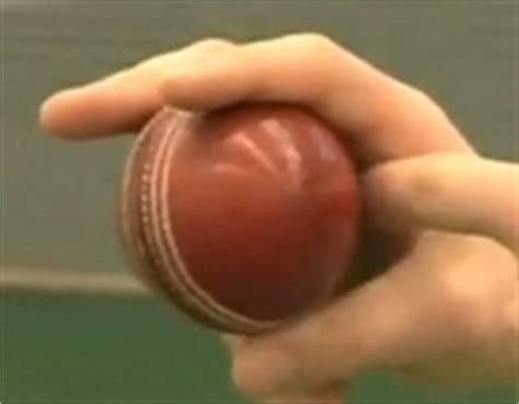 wrist position for swing bowling the art of inswing bowling grip how to videos