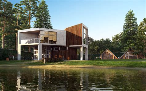 amazing renderings of beautiful houses
