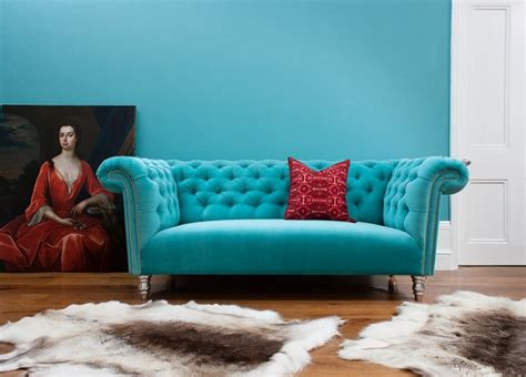 turquoise chesterfield sofa 1000 images about turquoise velvet sofas on