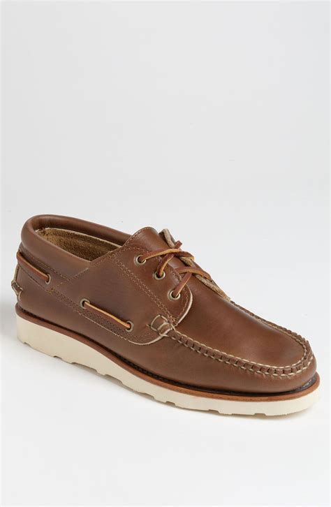 eastland boat shoes eastland wiscasset usa boat shoe exclusive in brown