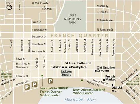 map of new orleans jazz fest lafitte national historical park and preserve french