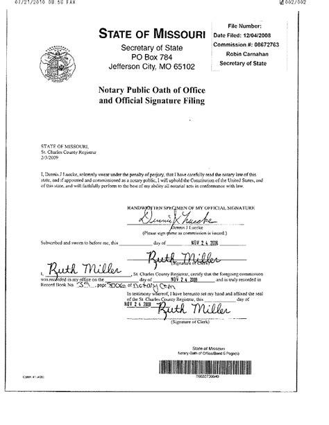 29 Images Of Missouri Notary Signature Template Tonibest Com Notary Signature Block Template