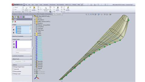 solidworks tutorial wind turbine how create wind turbine blade in solidworks grabcad