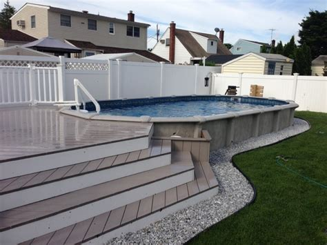 Mini inground pools, above ground pools semi inground pool