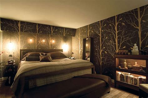 In The Bedroom by Wallpaper In The Bedroom Modern Bedroom Ideas