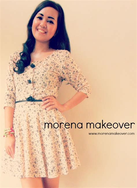 Morena Dress morena makeover flats vintage dress morena makeover