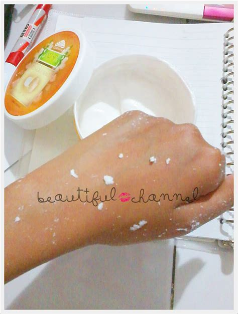 Scrub Daki beautiful channel review cempaka bali spa scrub