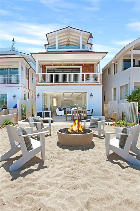 beach house california beach house with crisp white coastal interiors