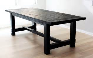 Black Rustic Dining Table The Most Awesome Dining Table Imperfection Design Milk