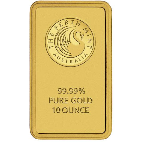 10 Oz Silver Bar Sell Price - buy 10 oz perth mint gold bullion bars silver