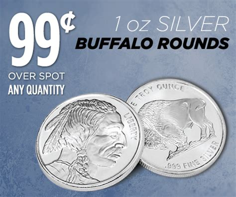 1 Oz Silver Rounds Cheap by Buy Gold Silver Official Golden Eagle Coins