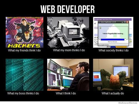 Web Memes - what i really do meme weknowmemes