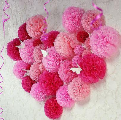 Pompom Tusuk Bunga diy bunga pom pom untuk hiasan berbagai majlis dan suasana santai santai jerr
