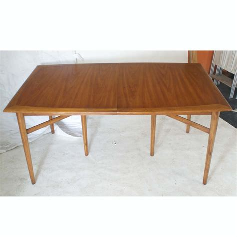 84 quot vintage heritage extension walnut dining table ebay