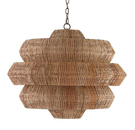 nature chandelier rattan chandelier