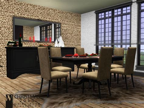 Dining Room Set Sims 3 Wondymoon S 2013 Dining Room
