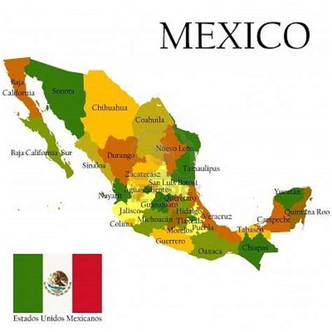 states mexico map best 25 states of mexico ideas on s