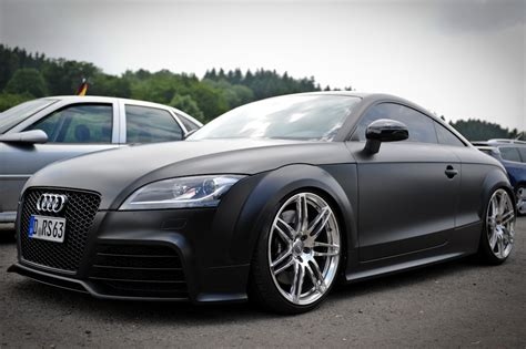 p nut buttah jelly audi tt rs matte black
