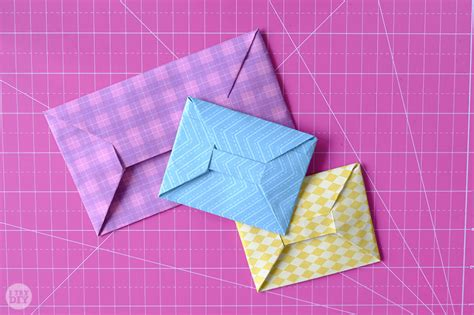 Origami Mini Envelope - origami money envelope i try diy