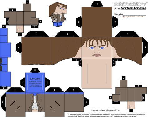Papercraft Human - papercraft human