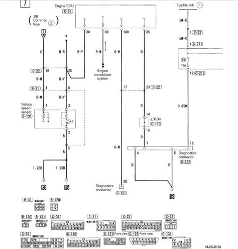 comfortable mitsubishi lancer radio wiring diagram ideas