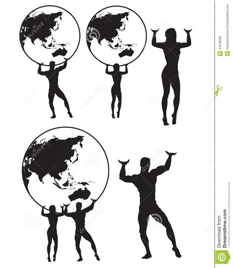 female atlas clipart