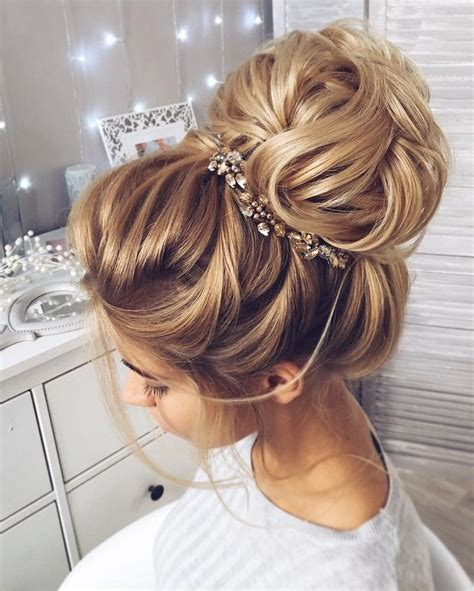 high bun updo wedding 25 best ideas about wedding bun hairstyles on pinterest