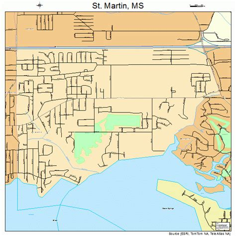 st martin map st martin mississippi map 2864680